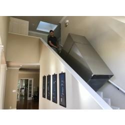 Installing 1250lbs Gun Safe Upstairs