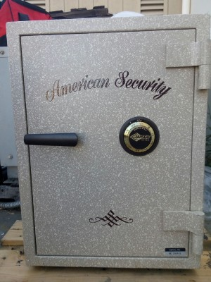 Used American Security Safe for Sale