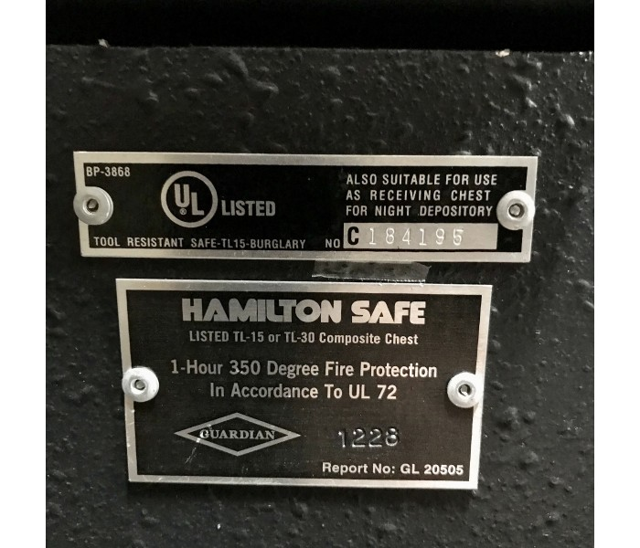 Hamilton Safe